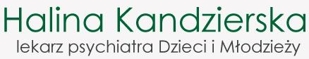Halina Kandzierska - Lekarz psychiatra Dzieci i Młodzieży